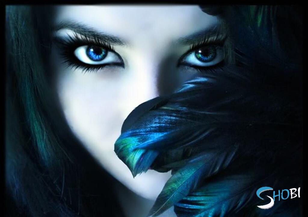 women fantasy eyes blue - photo #5